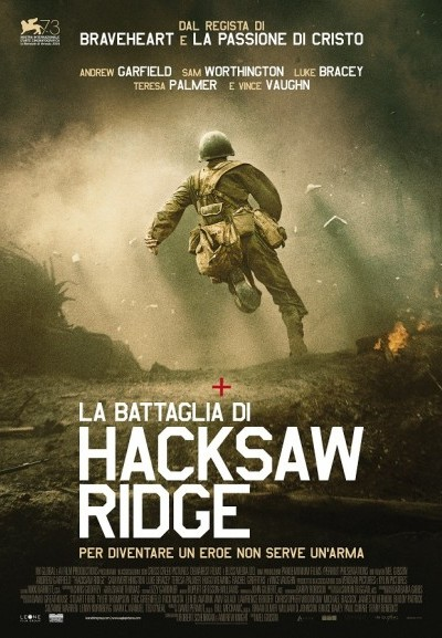 Cinema Politeama - locandina La battaglia di Hacksaw Ridge