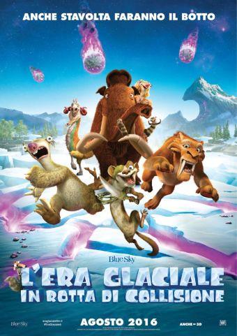 Cinema Politeama - locandina L'era glaciale - In rotta di collisione