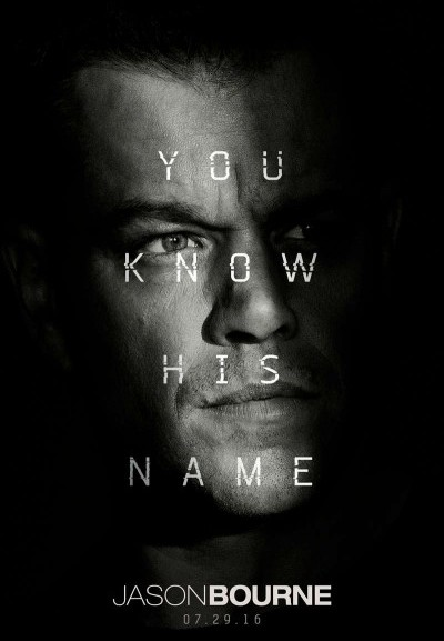 Cinema Politeama - locandina Jason Bourne