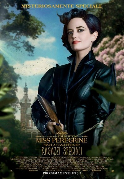 Cinema Politeama - locandina Miss Peregrine - La casa dei ragazzi speciali