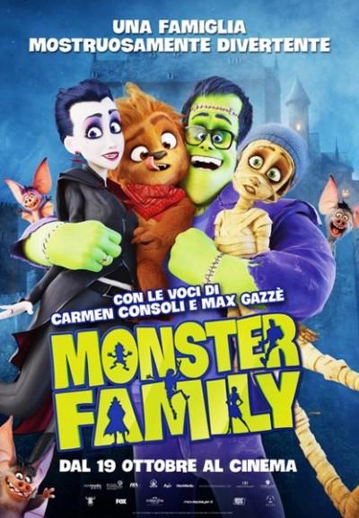 Cinema Politeama - locandina Monster Family