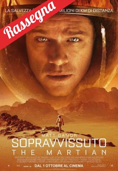 Cinema Politeama - locandina Il sopravvissuto - The Martian