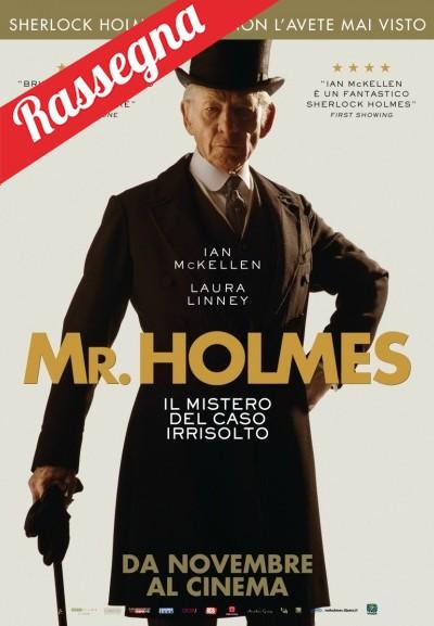 Cinema Politeama - locandina Mr. Holmes - il mistero del caso irrisolto