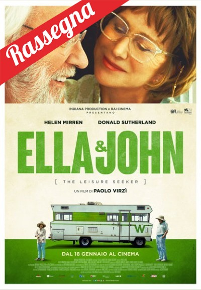 Cinema Politeama - locandina Ella e John