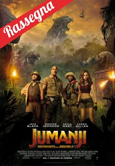 Cinema Politeama - locandina Jumanji - Benvenuti nella Giungla