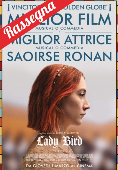 Cinema Politeama - locandina Lady Bird