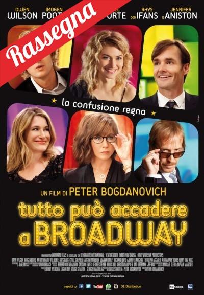 Cinema Politeama - locandina Tutto può accadere a Broadway