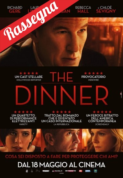 Cinema Politeama - locandina The Dinner