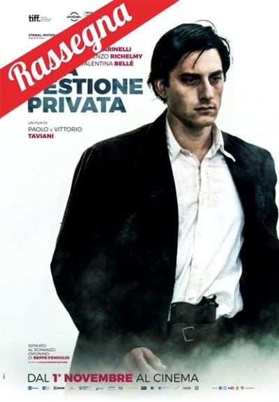 Cinema Politeama - locandina Una questione privata